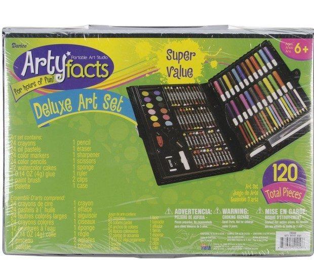 Darice 120-Piece Deluxe Art Set Now Just $8.14!
