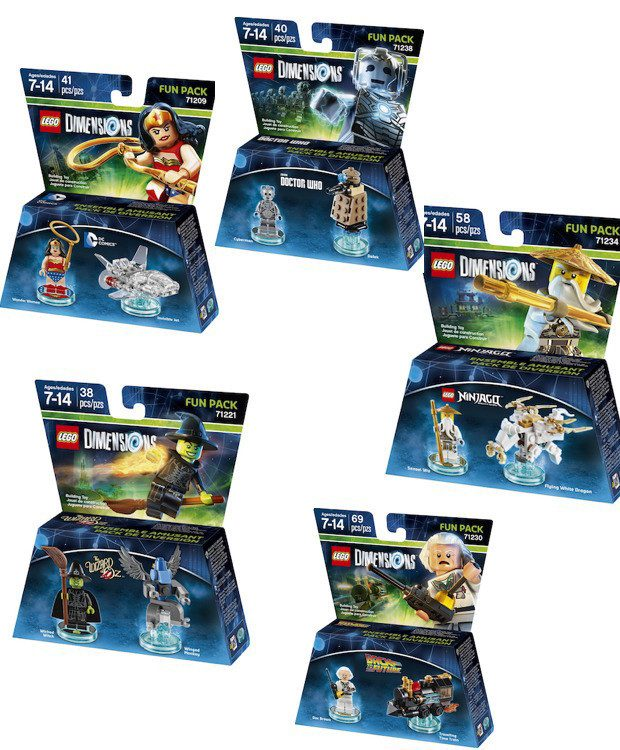 LEGO Dimensions Fun Packs Only $7.49 Each! (Reg. $15)