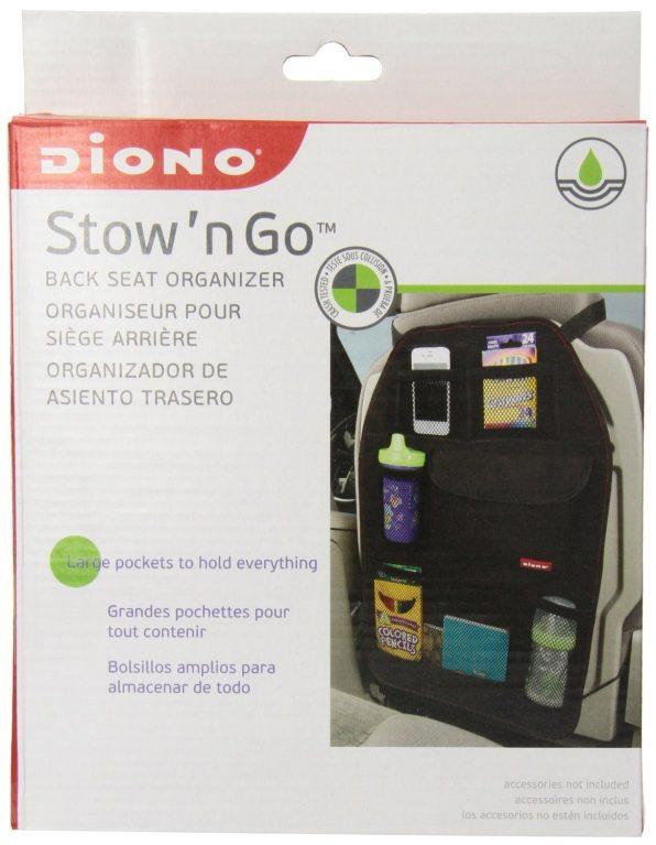 """Diono Stow """"N Go Car Organizer Just $7.68!"""