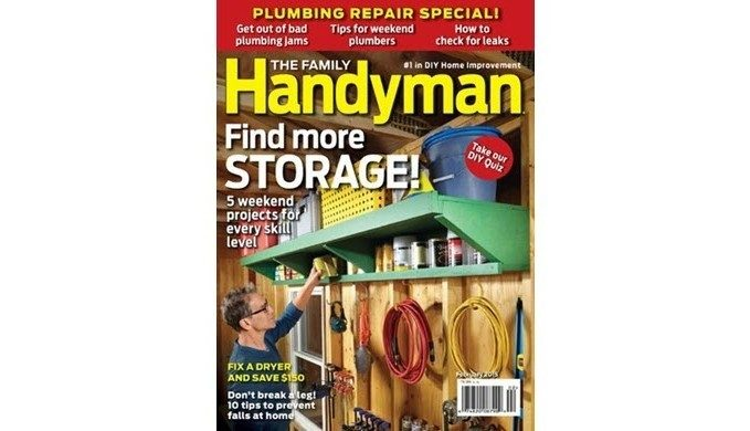 The Family Handyman 1 Year Subscription Only $6.99!