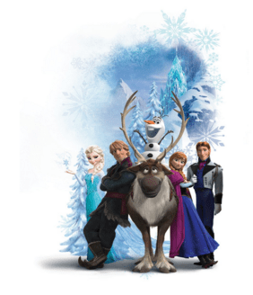 RoomMates Disney Frozen Character Winter Burst Wall Decals Just $12 Down From $26!