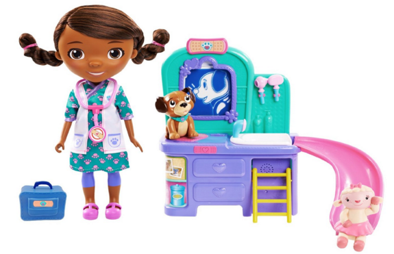 Doc McStuffins Pet Clinic Doll (FFP) Just $14.83 Down From $45!