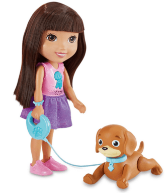Fisher-Price Nickelodeon Train And Play Dora And Perrito Just $10.16 Down From $40!