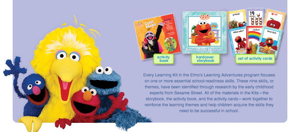 3 Elmo's Adventure Learning Kits Just $3.99!  Ships FREE!