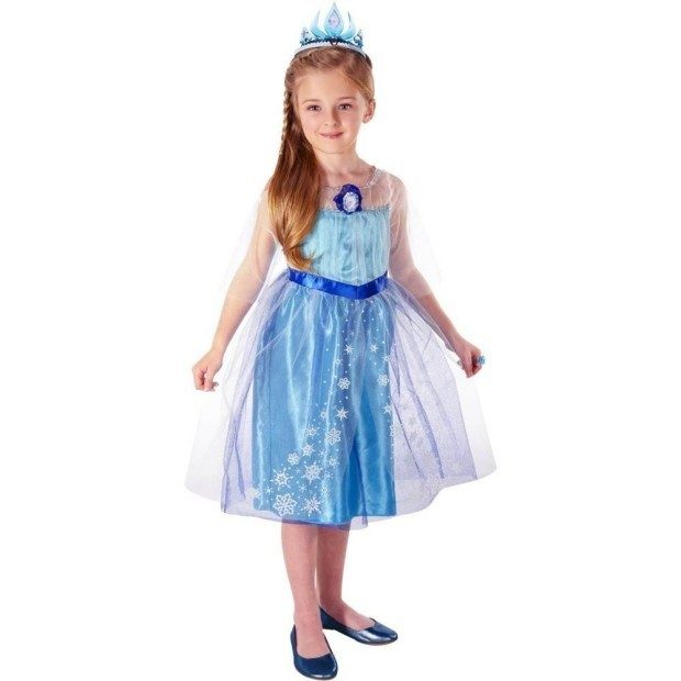 Elsa Disney Frozen Enchanting Dress (4-6x) Only $9.09!