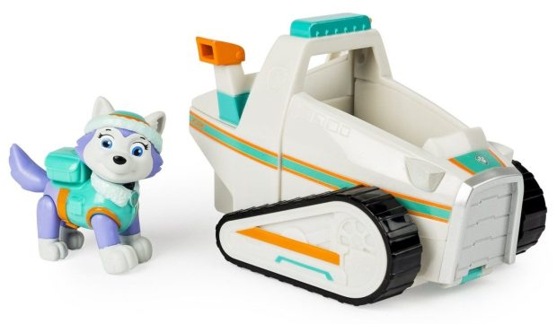 Paw Patrol Everest's Rescue Snowmobile, Vehicle and Figure Only $11.99! (Reg. $50)
