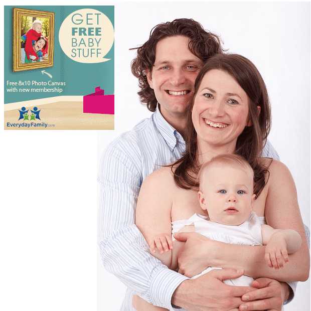 FREE 8 X 10 Photo Canvas From EverydayFamily!