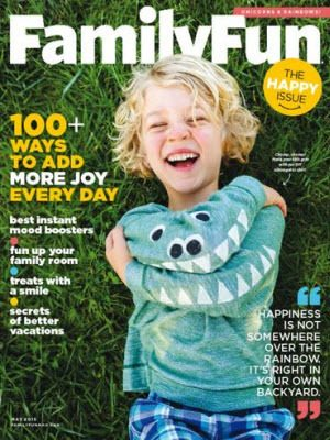 FREE Family Fun Magazine 1-Year Subscription!