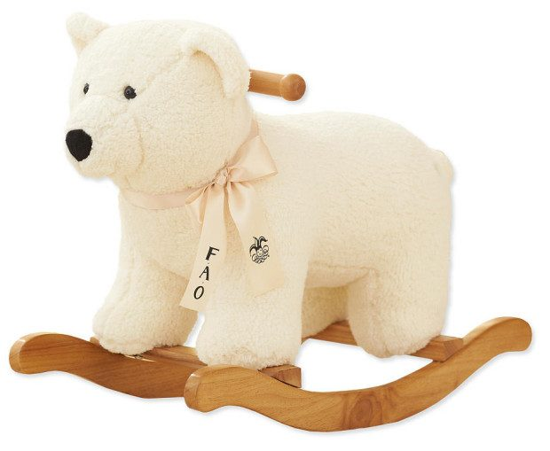 FAO Schwarz Polar Bear Rocker Just $32.48! (Reg. $130!)