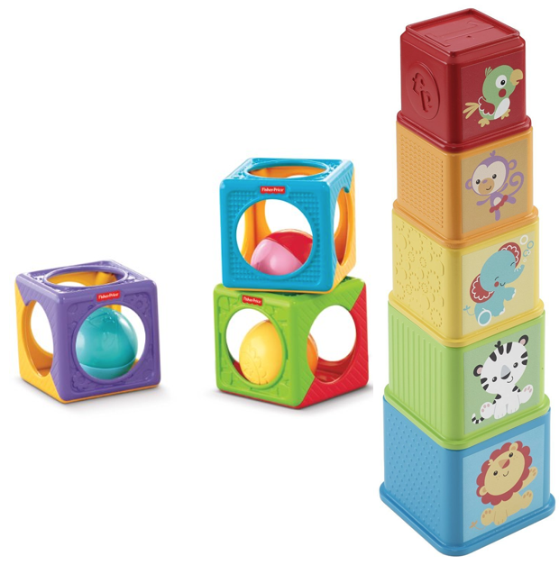 Fisher-Price Stack & Explore Blocks Now $4.07, Easy Stack 'n Sounds Blocks Now $4.32! (Reg. $10)