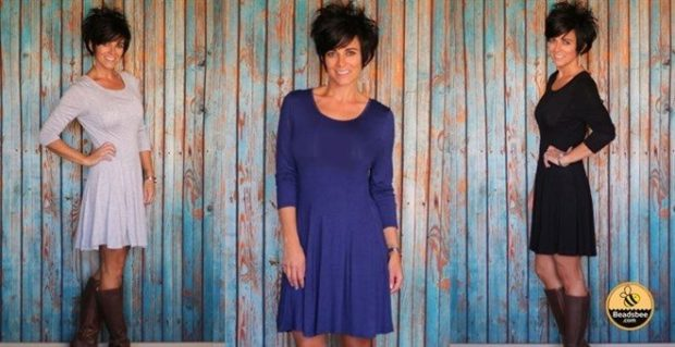 Classic Flare Dress Only $11.99!