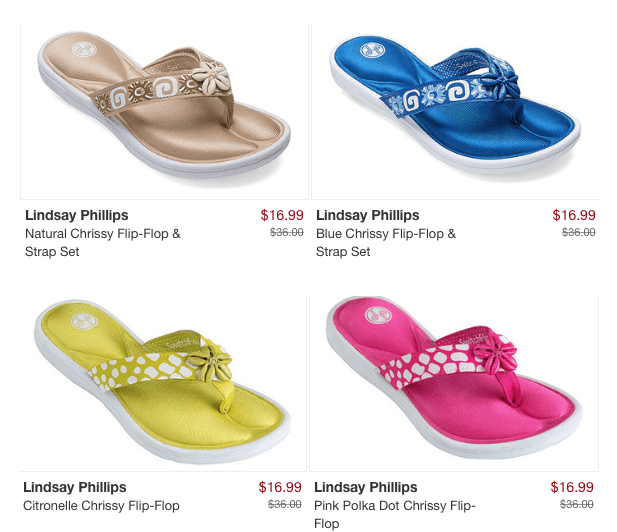 Chrissy Flip Flop Only $16.99!