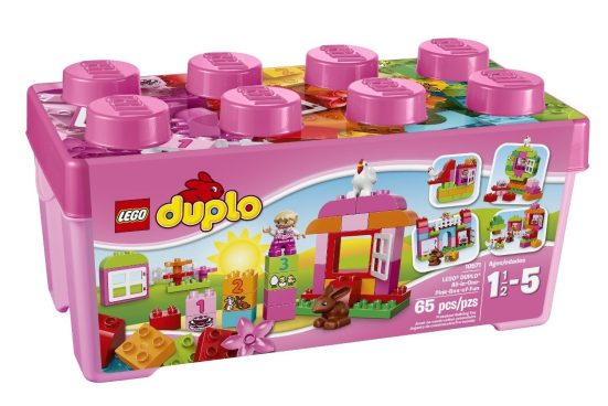 LEGO DUPLO All-in-One-Pink-Box-of-Fun Just $19.49 (Was $30)