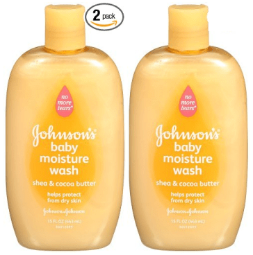 Johnson's Baby Moisture Wash 15 Ounce Bottles 2 Pk Only $2.48 Each!