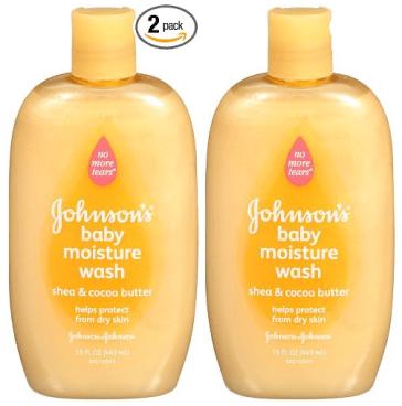 Johnson's Baby Moisture Wash 15 Ounce Bottles 2 Pk Only $2.48 Each!