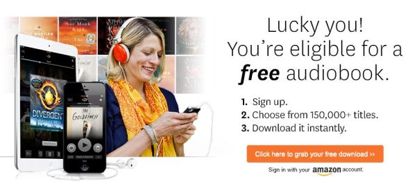 free audiobook from audible