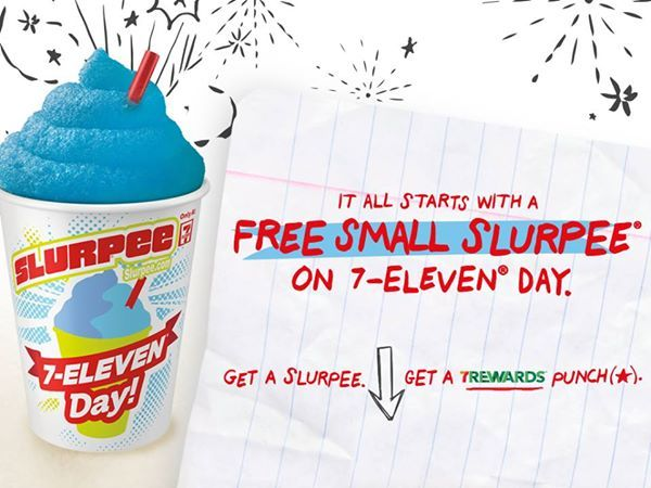 FREE Small Slurpee At 7-Eleven On 7/11!