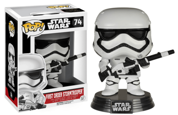 Funko Heavy Artillery First Order Stormtrooper Pop (Amazon Exclusive) Just $10 Down From $13!
