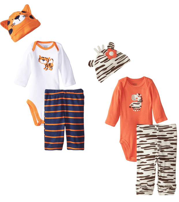 Gerber Boys Or Girls Newborn 3 Pc Sets Starting At Less Than $4!
