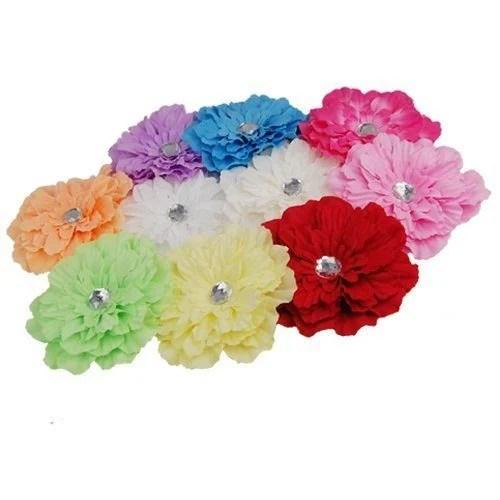 gerbera daisy hair clips