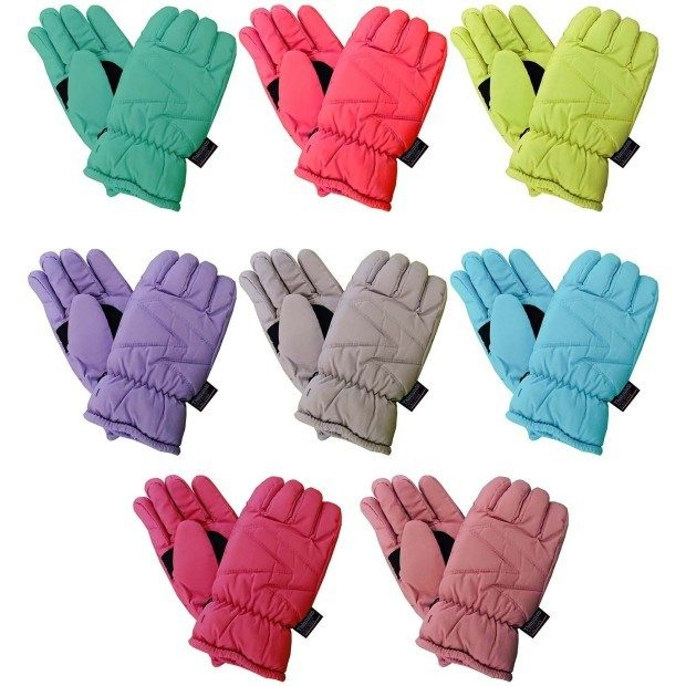 Women's 3M Thinsulate Fleece Lined Ski Gloves Multiple Colors Only $4.99 Ships FREE!