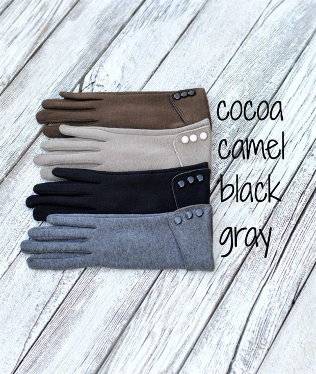 Fleece Lined Touch Screen Gloves Just $5.99!