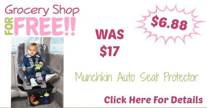 Munchkin Auto Seat Protector Only $6.88 (Reg. $17)!