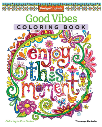Good Vibes Coloring Book (Coloring Is Fun) Just $6 Down From $10!