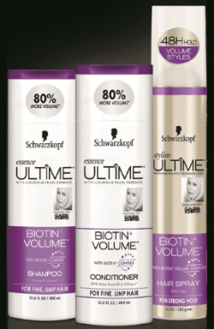 Try Me FREE Schwarzkopf Ultime Essence Or Styliste Product!