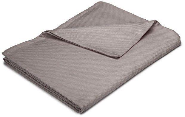 Pinzon 300-Gram Cotton Blanket - Full/Queen In Grey Just $20.34 (45% Off)!