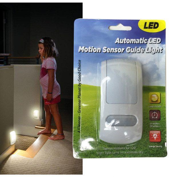 LED Motion Sensor Guide Light $5.99 Each Or $10/2 Plus FREE Shipping!