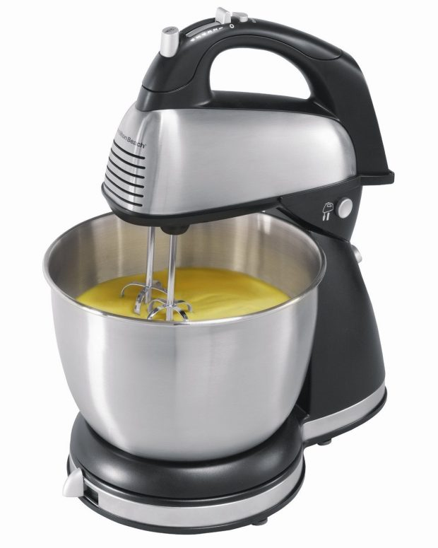 Hamilton Beach 6-Speed Classic Stand Mixer, Stainless Steel Only $25.09!