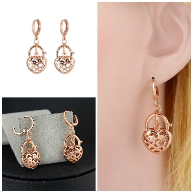 Heart Dangle Earrings Only $3.80 + FREE Shipping!