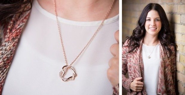 Rose Gold & Silver Necklaces Only $4.99!