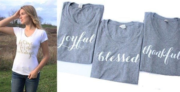 Holiday Tee Collection - 5 Styles Just $16.99!