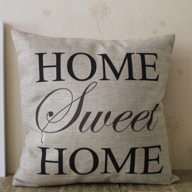 Home Sweet Home Pillow Cover Just $3.88 + FREE Shipping!