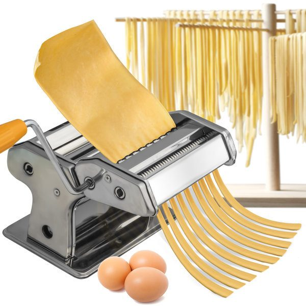 OxGord Stainless Steel Pasta Maker Machine Just $22.99! Down From $99.95! Ships FREE!