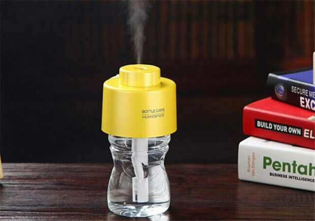 Water Bottle Cap Humidifier Only $8.11!