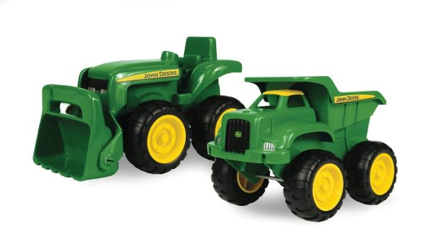 John Deere Sandbox 2 Pc Truck & Tractor Set Only $9.39!!