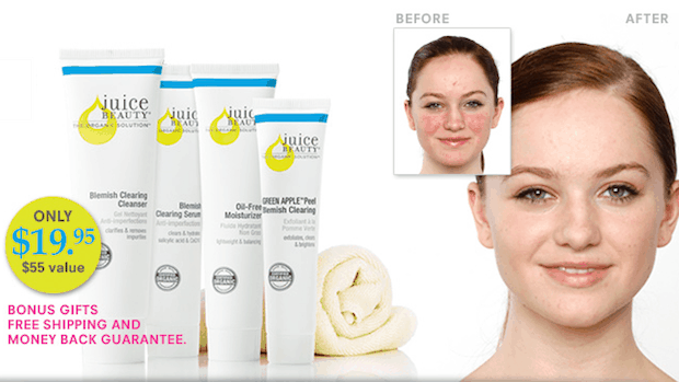 Blemish Clearing Solutions Kit Only $19.95 + Plus FREE Shipping!