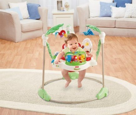Fisher-Price Rainforest Jumperoo Only $61.19! (Reg. $105)