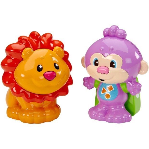 Fisher-Price Laugh And Learn Talk 'n Teach Monkey And Lion Just $7.98 Down From $15.00 At Walmart!