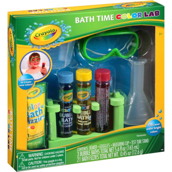 Crayola Bath Time Color Lab Gift Set Just $3.00! Down From $9.88!