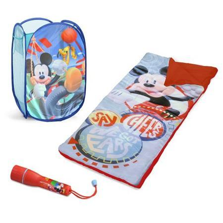 Disney Mickey Mouse Sleepover Set with BONUS Hamper Just $14.99 Down From $28.80 At Walmart!