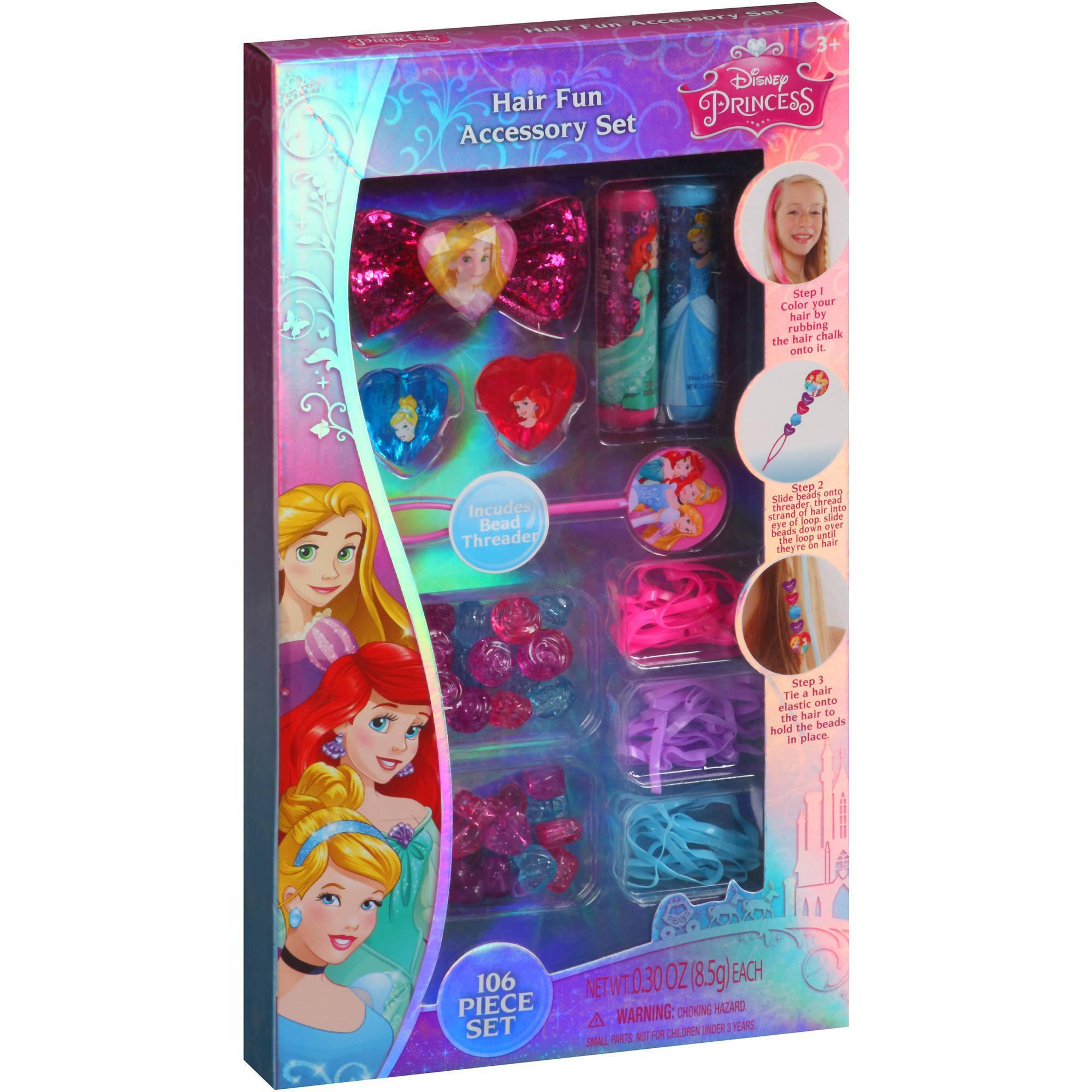 Disney Princess Hair Fun Accessory Set Just $2.44 Down From $4.88 At Walmart!