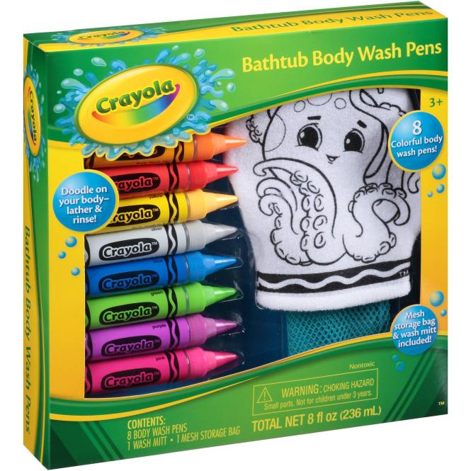 Crayola Bathtub Body Wash Pens Gift Set Just $5.15! Down From $9.88!