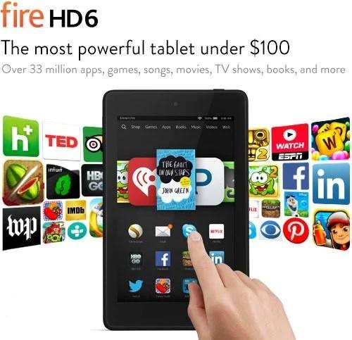 Kindle Fire HD6 Just $69.99 Shipped! (reg. $99.99)