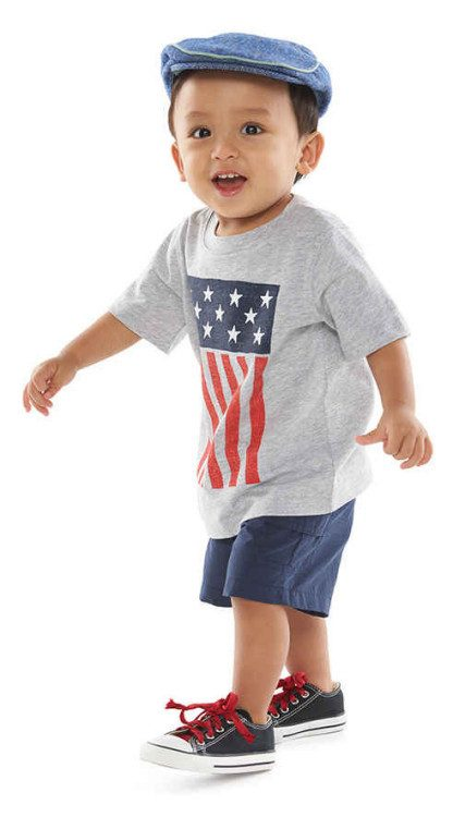Baby Boys Tee & Shorts Just $5.99 Each At Kohl's!