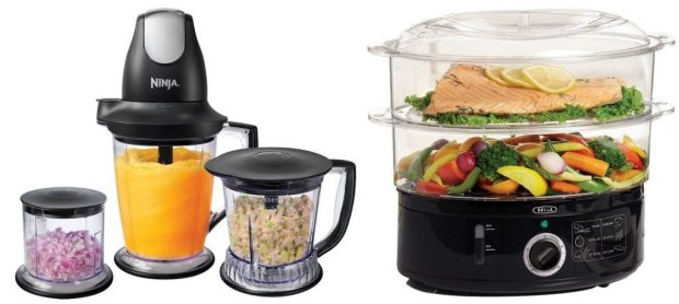 Ninja Master Prep Blender & Food Processor & Bella Food Steamer $49.48 Shipped!