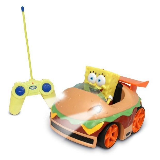 Remote Control Krabby Patty Vehicle with Spongebob Was $30 Now Only $14.99!